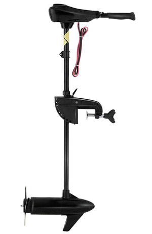 GOPLUS Electric Trolling Motor 46-55 86 LBS Thrust Transom Mounted 8 Speed