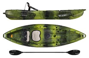 Vibe-Kayaks-Skipjack-90-9-Foot-Angler-and-Recreational-Sit-on-Top-Light-Weight-Fishing-Kayak