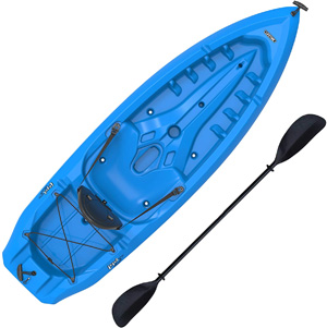 Lifetime-Lotus-Sit-On-Top-Kayak-with-Paddle