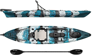Vibe Kayaks Sea Ghost best kayak for big guys