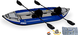 Sea Eagle 380x Inflatable Kayak for big guys